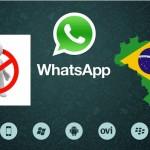 Whatsapp bloqueado en Brasil