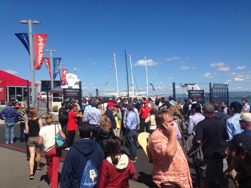 Americas Cup at Pier 29