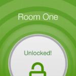 Usando el smartphone para abrir puertas en un hotel